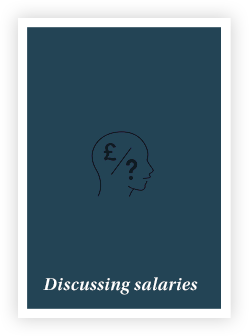 Discussing salaries