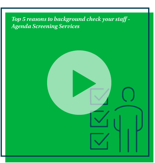 Why screen your staff?