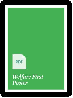 Welfare First Poster